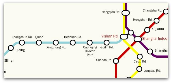 New connection at Yishan Road