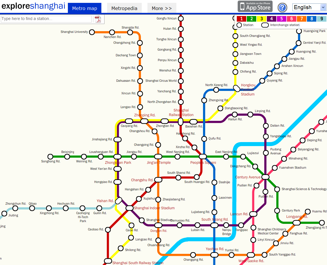 Number 7 Subway Map.The Big Orange Snake Shanghai Metro Line 7 Sneak Preview The