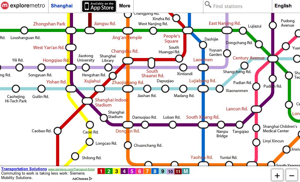 Shanghai Underground Map Pdf