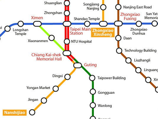 Dongmen Station opens in Taipei, connecting the Orange line | the