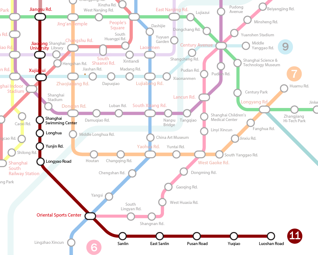 Shanghai Metro Line 11 Extension Opens This Weekend The