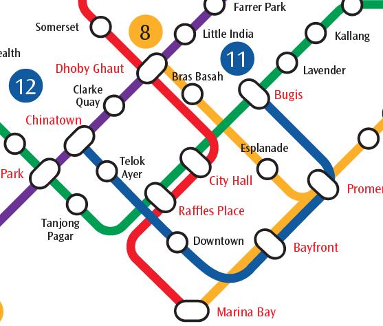 Downtown MRT