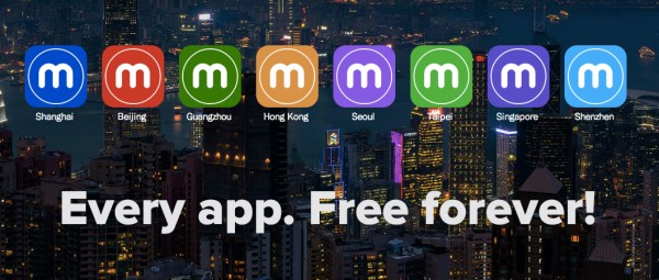 Every app. Free Forever.