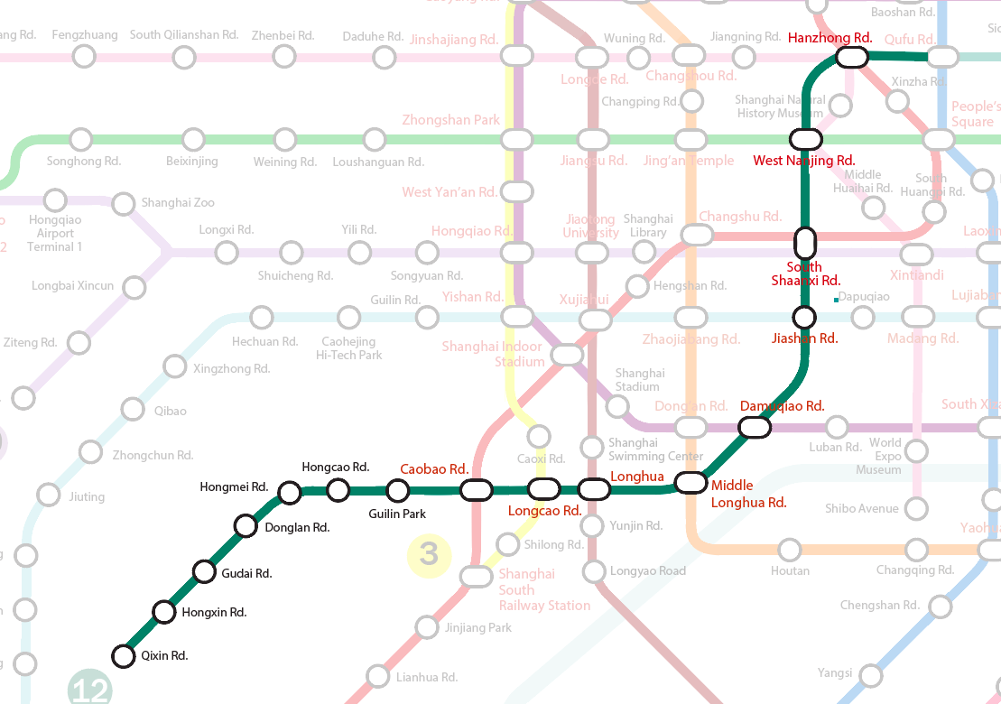 Previewing the Shanghai Metro Line 12 and Line 13 extensions | the ...
